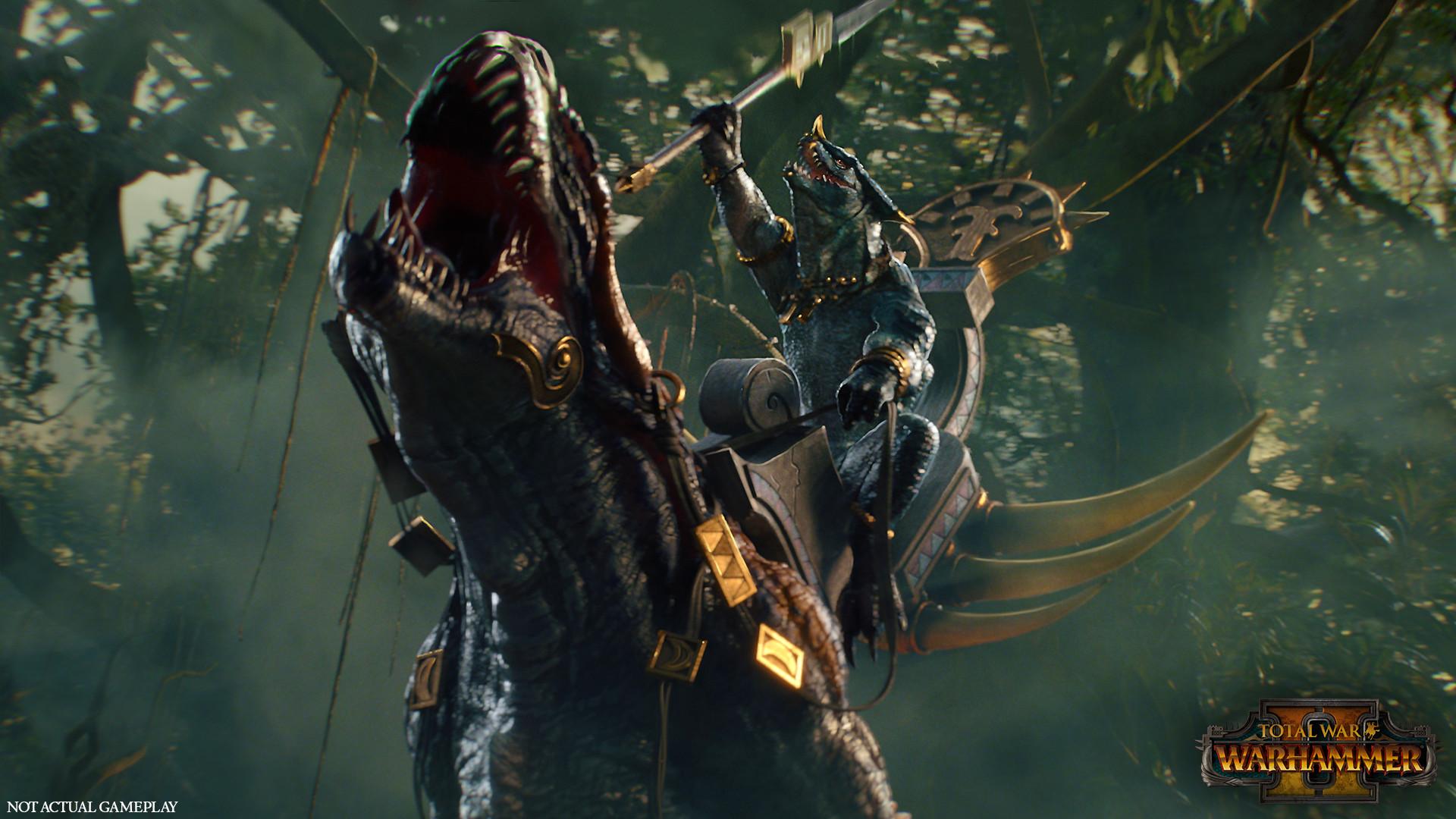 Total War - Warhammer 2 - Echsenmenschen