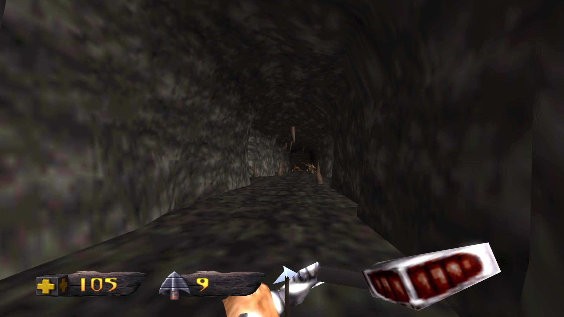 Turok Dinosaur Hunter - In einer Höhle