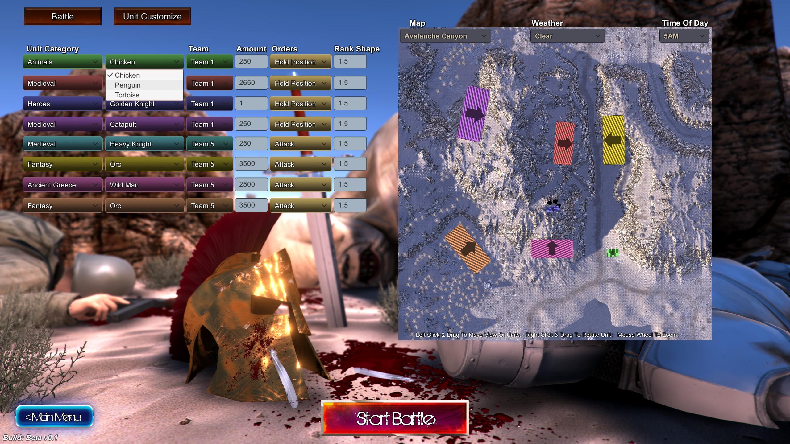 Ultimate Epic Battle Simulator - Eine Schlacht erstellen