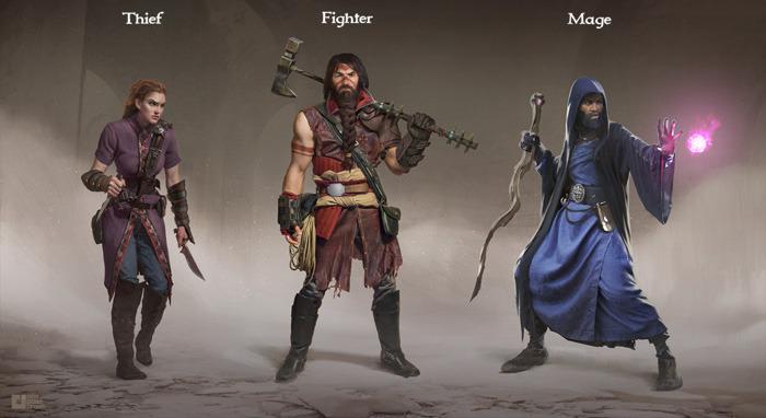 Underworld Ascendant - Die drei Klassen