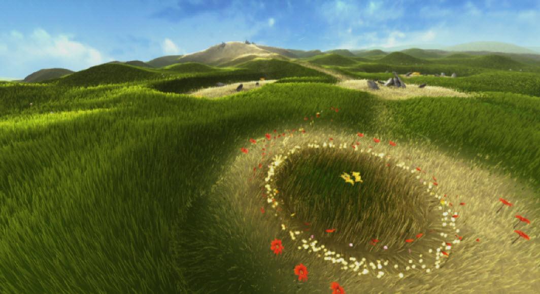 Videospiele – Interaktive Kunst - Flower