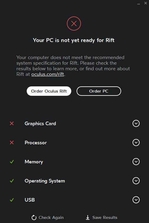 Oculus Rift - PC ist nicht gut genug