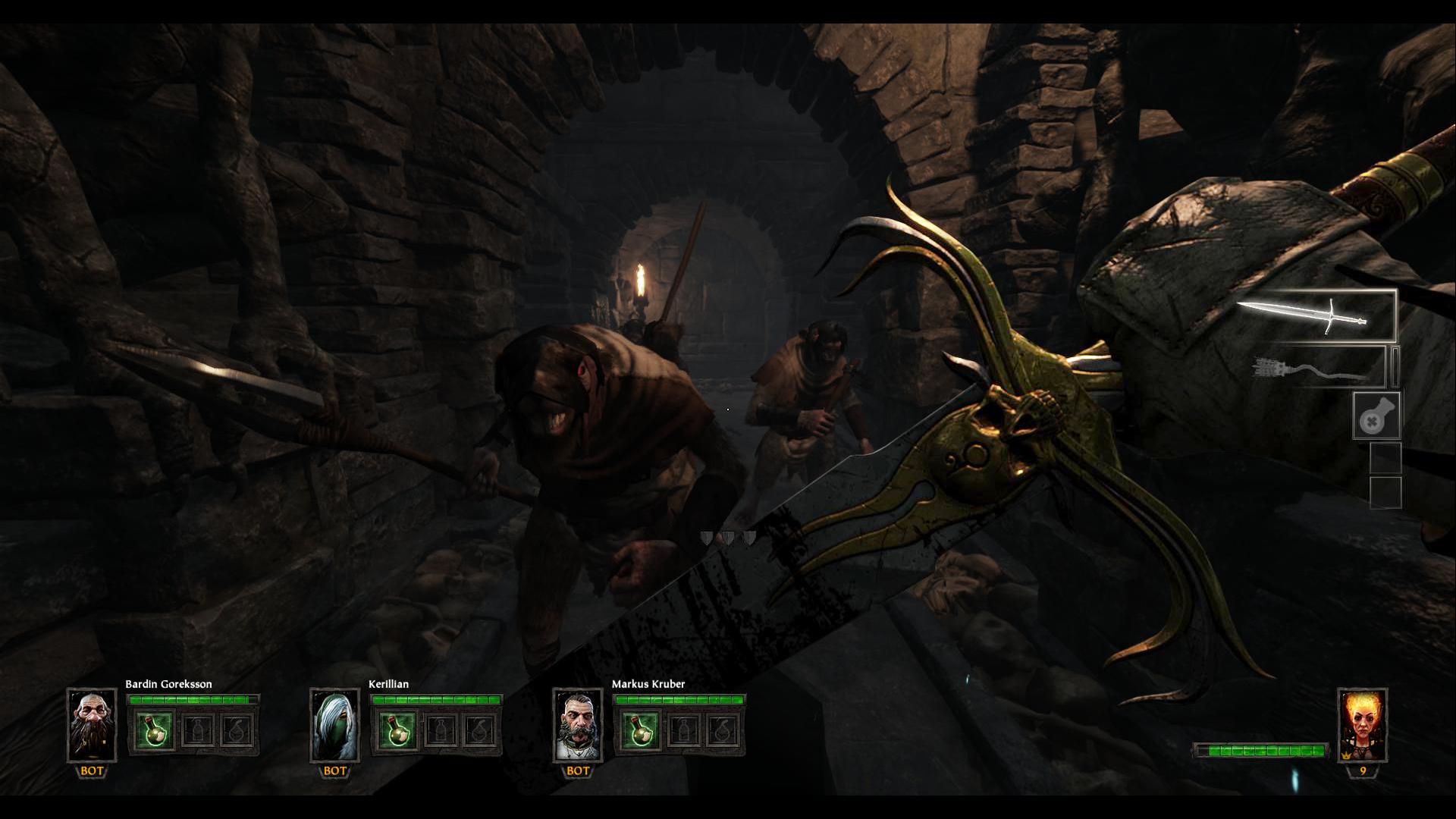 Warhammer End Times – Vermintide - DLC Drachenfels - Mitten Im Kampf