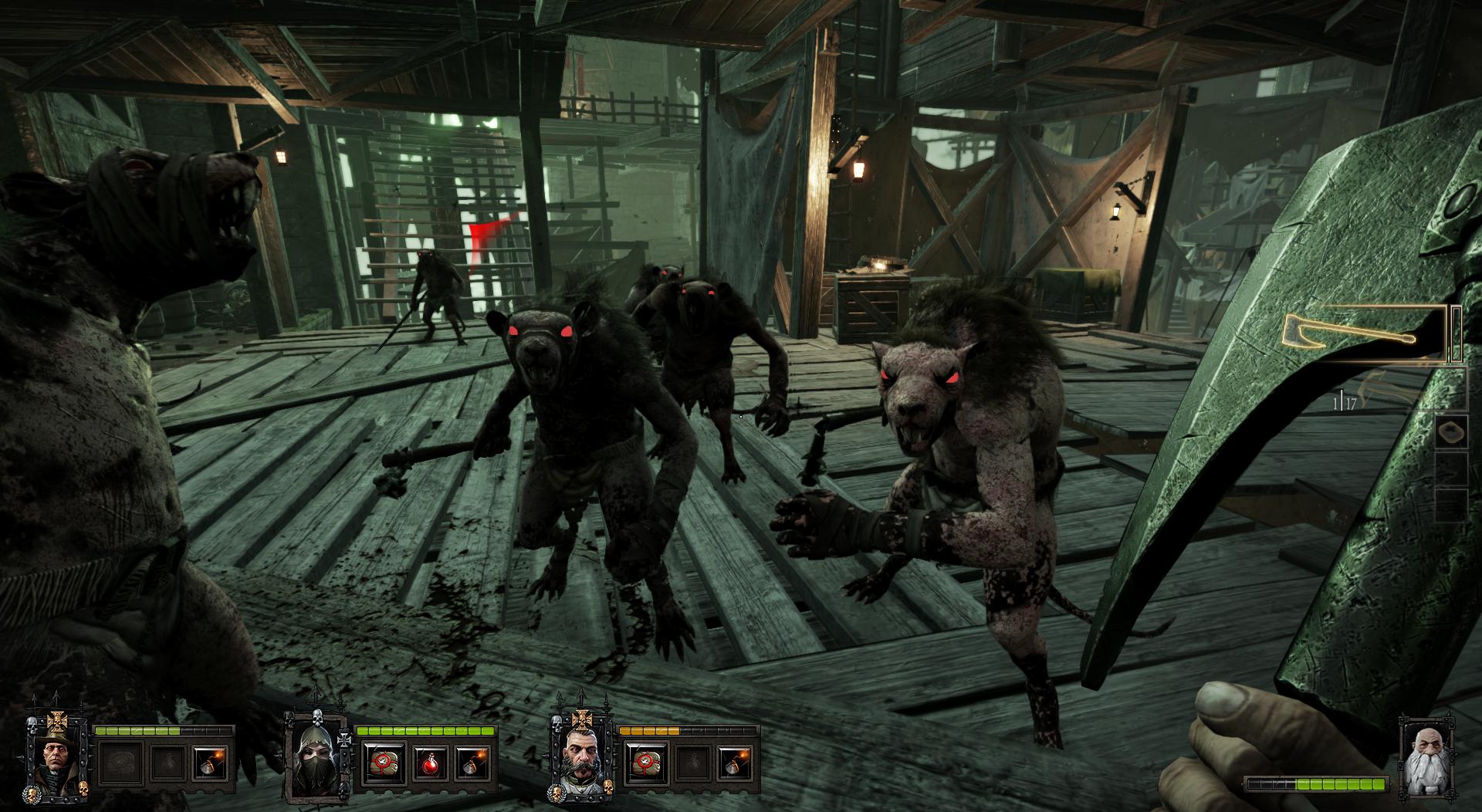 Warhammer End Times - Vermintide - Der Zwerg gegen die Skaven