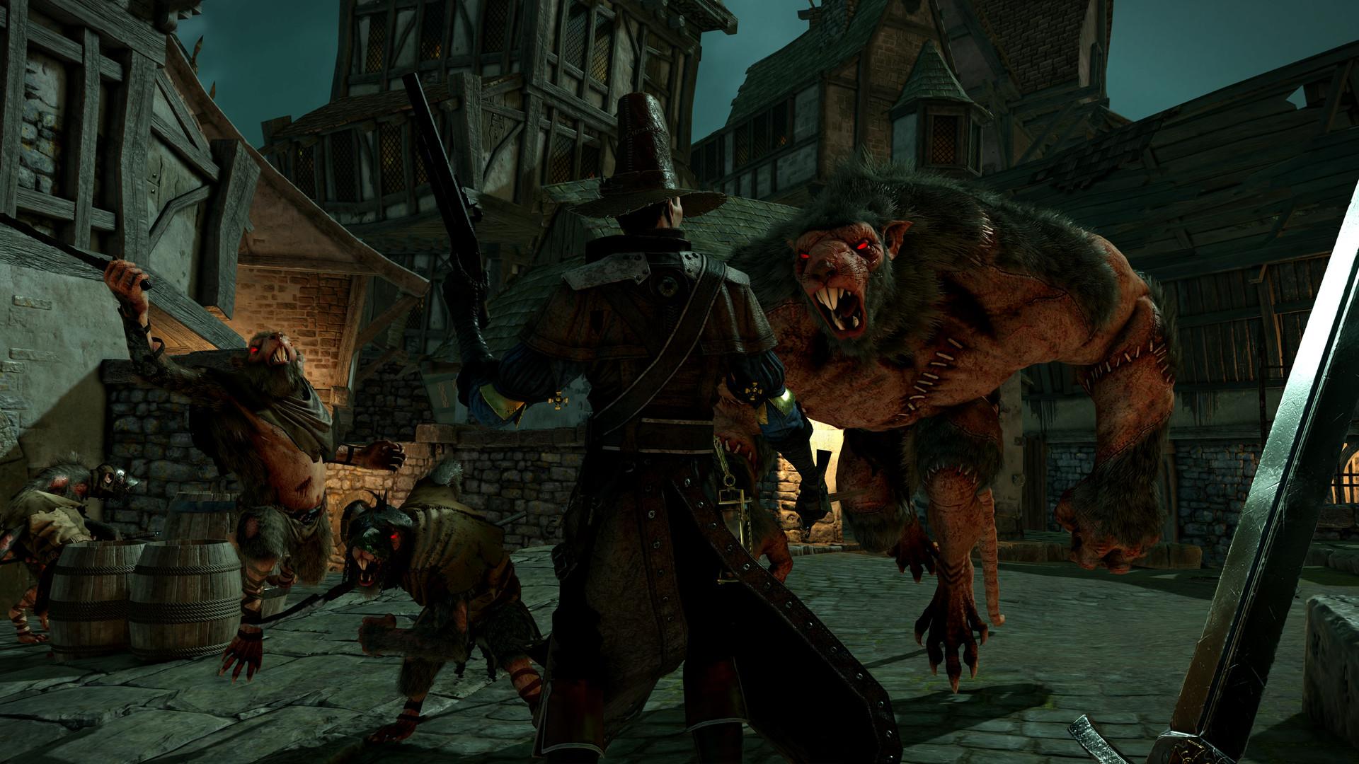 Warhammer End Times - Vermintide - Ein Mensch gegen die Rattenbrut