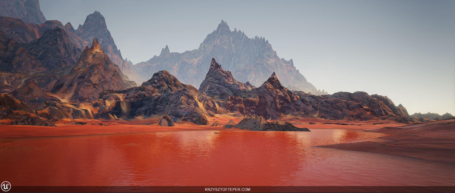 Zerrikania Wüste - Korath - Wasser rot wie Blut