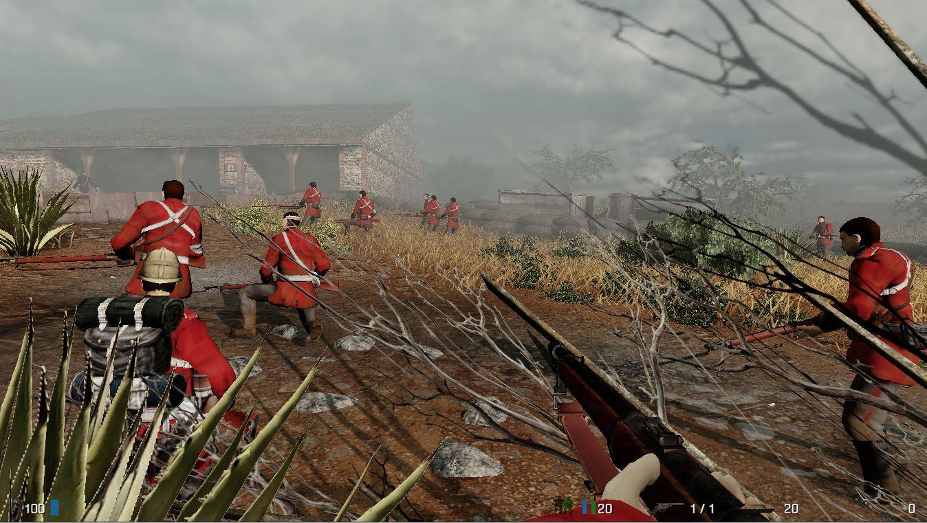 Zulu Response - britische Truppen