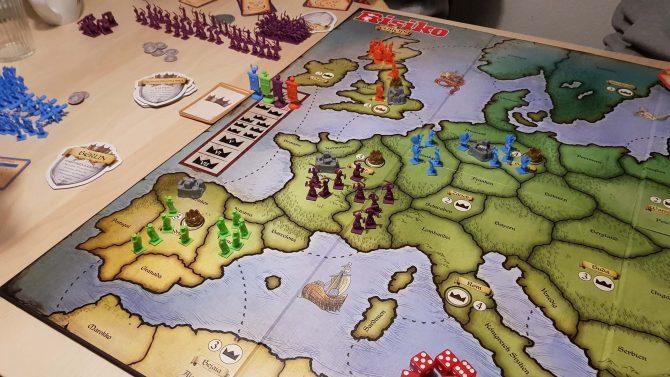 Risiko Europa Risiko in der Mittelalter Variante