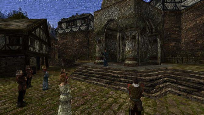 Gothic-1-Mod-Und-zuletzt-entstand-der-Mensch-Vatras-Predigt-über-den-Streit-der-Götter