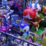 Gaming-Merchandise von Pokemon auf einer Comic-Con