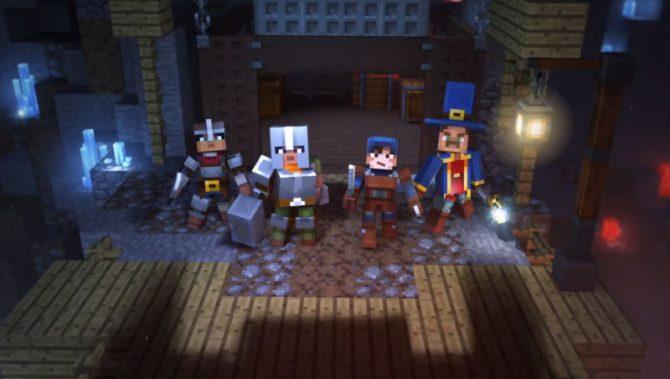 Minecraft Dungeons Offiziell Angekündigt Gamede - Minecraft spiele filme